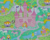 Princessville - Fabric By The Half Yard 18 inches x 44 inches