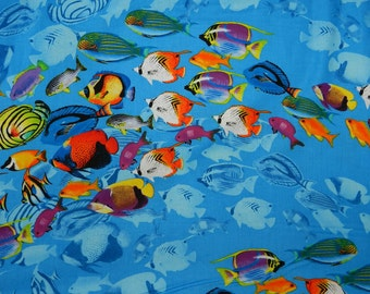 Reef Fish - Fabric By The Yard
