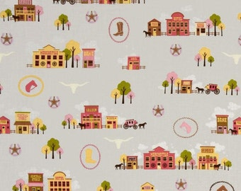 Saddle Up Town - Fabric By The Yard