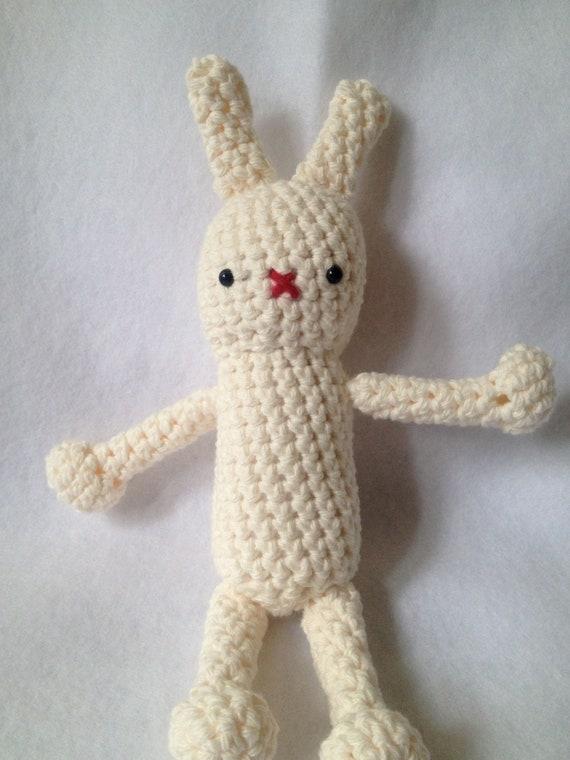 Amigurumi Stuffing Alternatives : Amigurumi Little Bunny Stuffed Animal by hookedandloopy on ...