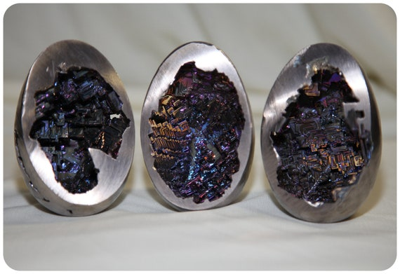 """Bismuth """"Dragon Eggs"""" Hand grown Sculpture - Only One Left"""