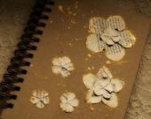 Starflower Journal - Recycled - Spiral Bound - Vintage - Paper - Rustic -  Notebook