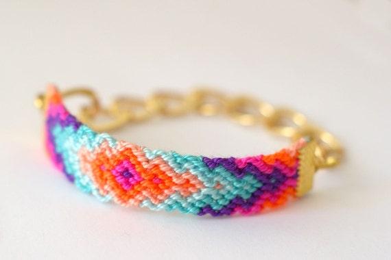 Etsy Chain Bracelet Chain Friendship Bracelet
