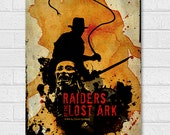 Raider of the Lost Ark Movie Poster Print