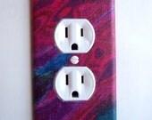 Aurora Borealis Outlet Plate, wall decor