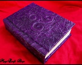 Pagan Wicca Book of Shadows 3d series Violet - magic paganism - small size 6,3x4,7 inch (16,2x11,8 cm)