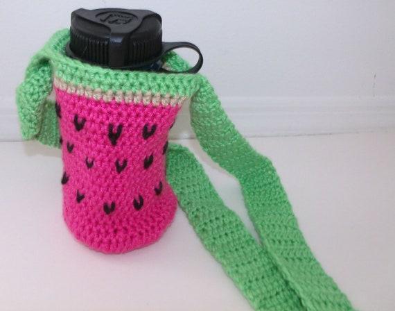 Watermelon Water bottle Carrier