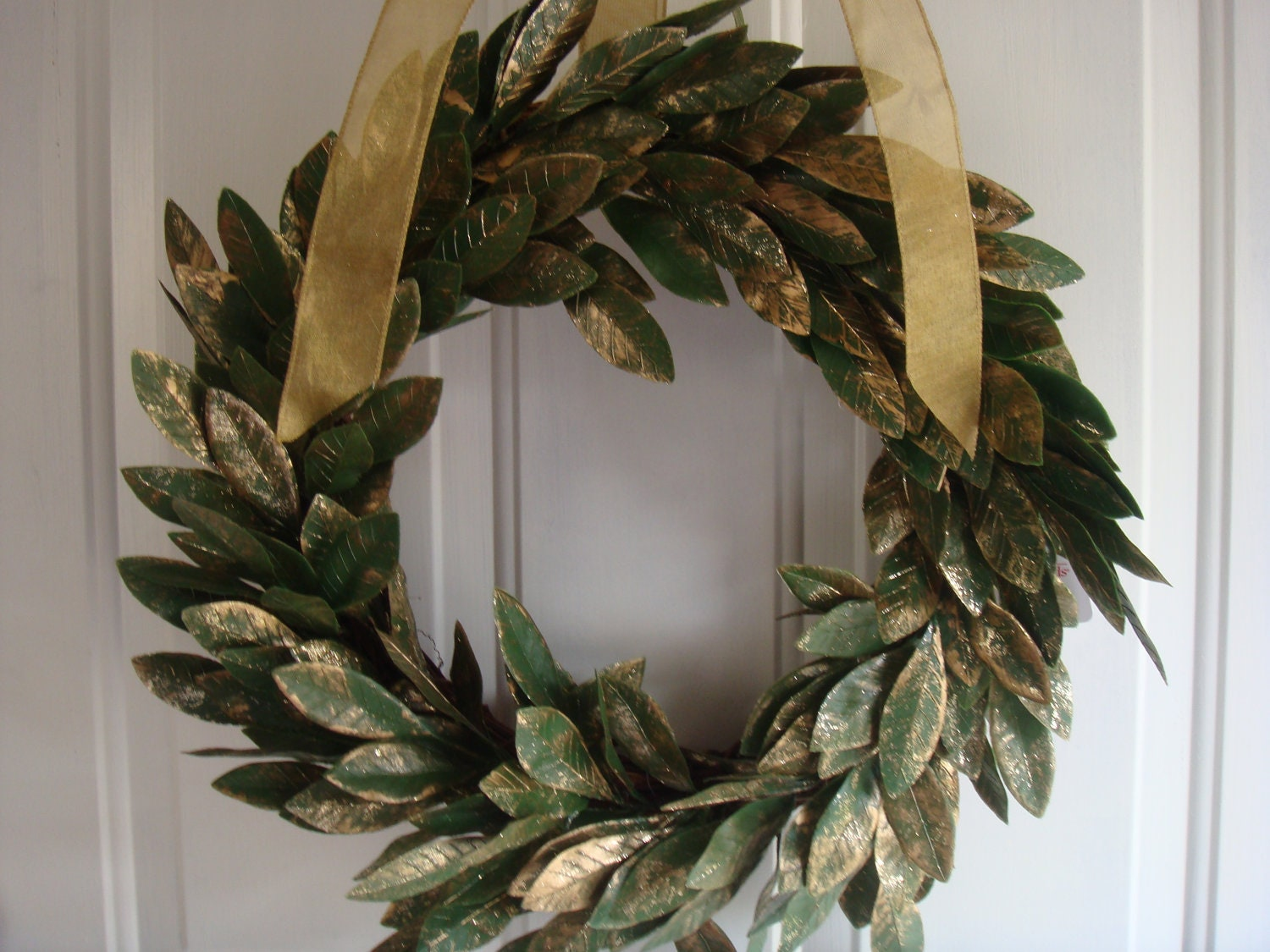 Laurel Wreath Christmas Wreath Holiday Wreath Front Door