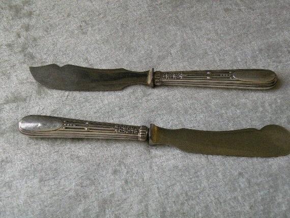Wilhelm T. Binder German 835 Sterling Silver Knives