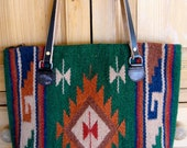 Navajo Print Tote Bag