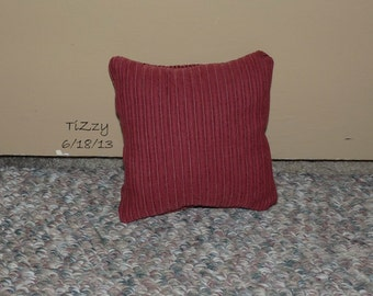 """ON SALE! - Red Decorative Pillow - 7""""x7"""""""