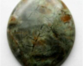African Snake Skin Jade Pendant Stone