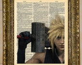 Final Fantasy VII Cloud Strife Dictionary Art featured image