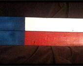 TEXAS Flag Fence Art