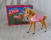 Barbie Doll's Baby Horse, Dixie - Golden Palomino