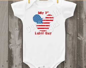 Baby's First Labor Day Carter's Bodysuit