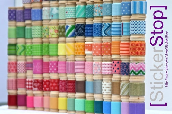 Washi Tape Assortment - 16 yards of your choice (48 feet) - Pick Your Pattern