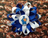 Cookie Monster Hairclip - Pinwheel