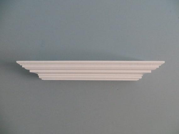 Charlton Home Bende Crown Moulding Wall Shelf Reviews Wayfair