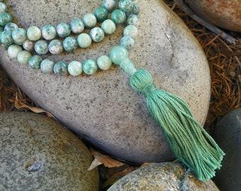 Mala Necklace - Ching Hai Jade Full Mala