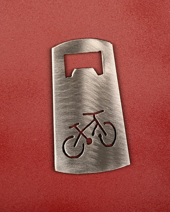 mountain bike bottle opener bicycle bottle by shineonsportygirl. Black Bedroom Furniture Sets. Home Design Ideas