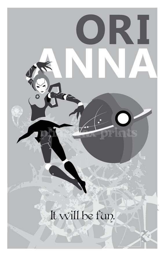 Orianna: League of Legends Print