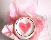 Make a Wish: Pink Heart Candle - ItAndABit