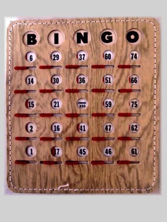 Vintage Bingo Card 43