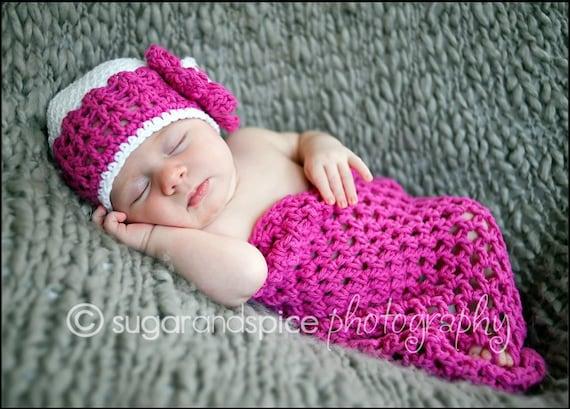 Crochet Patterns Newborn Photo Props : Crochet Hat PATTERN Cocoon Photo Prop Set Newborn Baby Cocoon Pod Hat