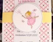 Fairy Birthday invitation, Girls BirthdayInvitations