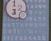 Martha Stewart Crafts Numeral Stamps