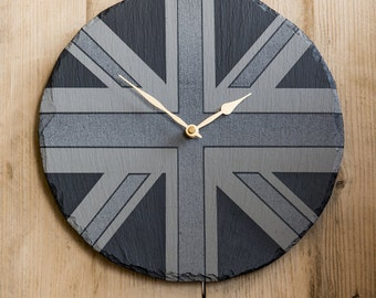 Welsh Slate Wall Clock
