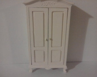 Dolls house  wardrobe painted in the colour of your choice