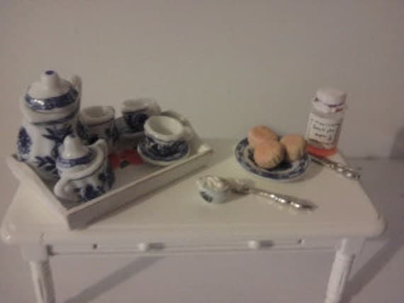Dolls house serving tray