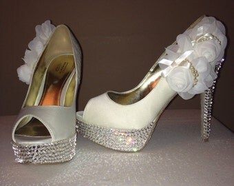 Ivory Wedding Pumps