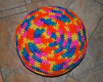 Crochet Round Pillow - Bikini