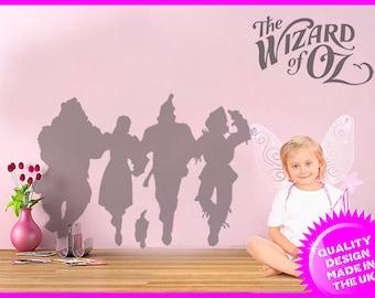 The Wonderful Wizard of Oz Dorothy wall frieze vinyl wall decal