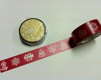 mt Masking Tape / 2012 mt Merry Christmas logo / Merry X'mas / MTCMAS23