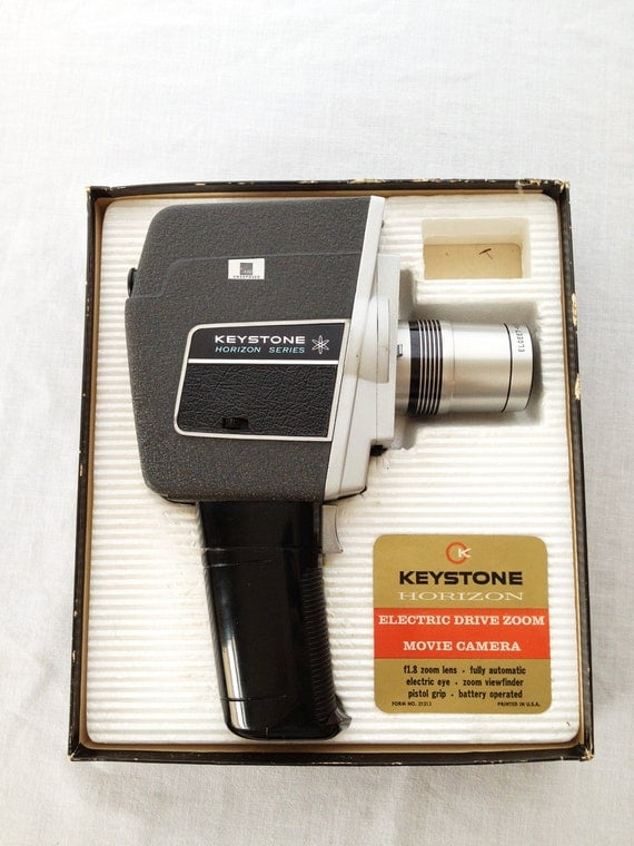 Vintage Keystone Horizon  8mm Movie Camera