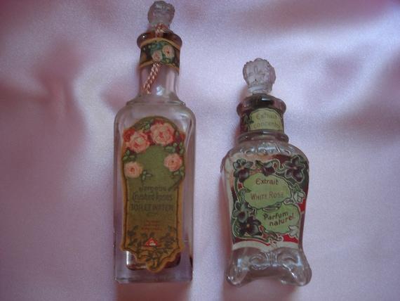 Vintage Perfume Bottle Set
