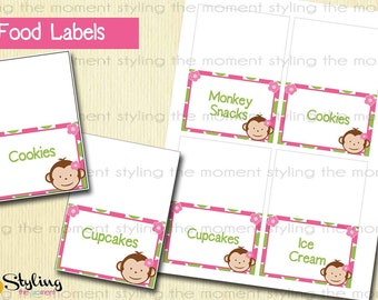 Pink Mod Money Tent Cards