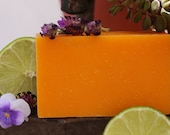 Don't miss our Citrus Lavender Bar Soap, a perfect balance of smooth and citrus blends.