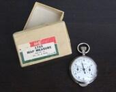 Vintage Keuffel and Esser Map Measure - 1950s-1960s