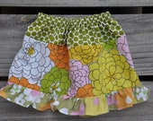 Baby Girl Ruffled Vintage Twirl Skirt