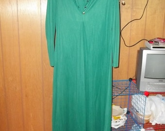 Vintage Emerald Green Prom Dress