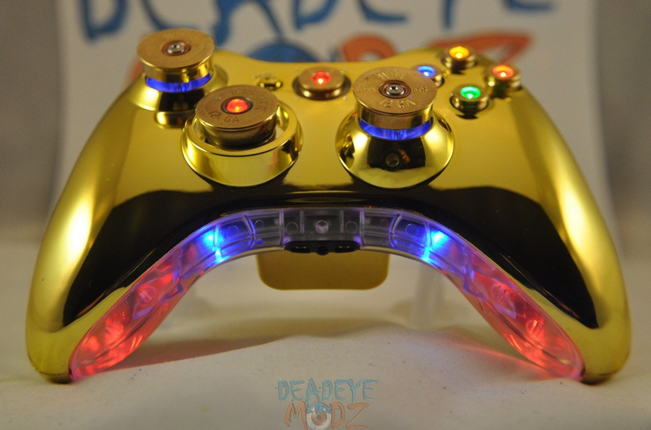 Xbox 360 Custom Controller Full Set of LED Bullet by ...