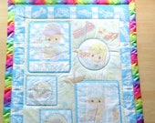 Lil' Racer Precious Moments Baby Panel Quilt