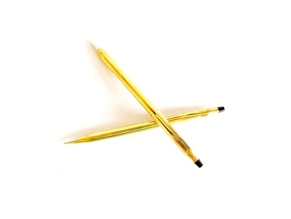 Cross 14 KT Gold Filled Pen and Pencil Set