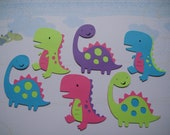 RESEVED listing for Lindsey 12 girl dinosaur Cricut die cuts