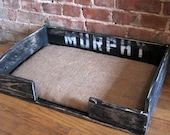 The Murphy. Custom (made to order) Pet Bed. Made of reclaimed wood. Free Shipping.